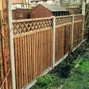 Fencing contractor Tooting, fencing services Tooting, South West London and Mitcham, Surrey.