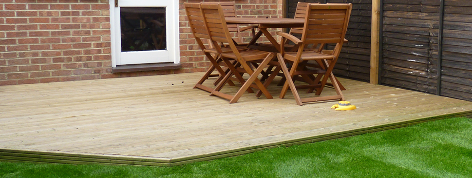 Decking services in Tooting, Sutton, Merton, Wimbledon and south west London; also Surrey.